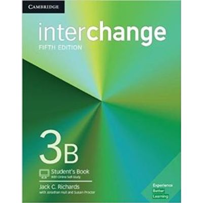 Interchange 3B Student´S Book With Online Self-Study - 5Th Ed