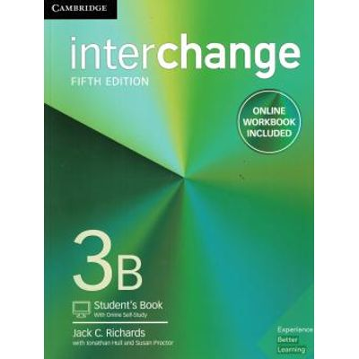 Interchange 3B Student´S Book With Online Self-Study And Online Workbook - 5Th Ed
