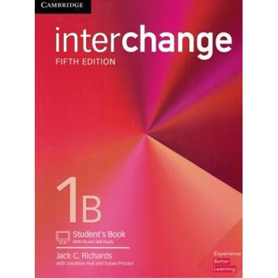 Interchange 1B Student´S Book With Online Self-Study - 5Th Ed