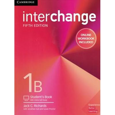 Interchange 1B Student´S Book With Online Self-Study And Online Workbook - 5Th Ed