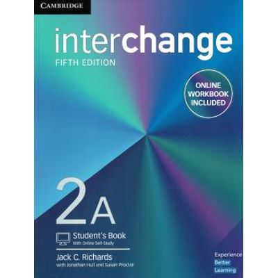 Interchange 2A Student´S Book With Online Self-Study And Online Workbook - 5Th Ed