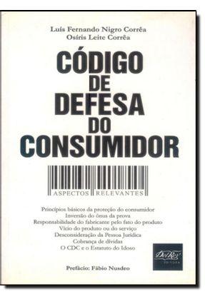 Código de Defesa do Consumidor - Aspectos Relevantes