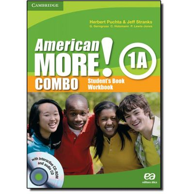 American More! Combo 1a - Student's Book & Workbook + Audio CD