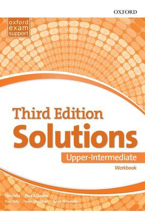 Solutions Upper - Interm - Workbook - 3ª Edition - Davies,Paul Falla,Tim   Tagrny.org