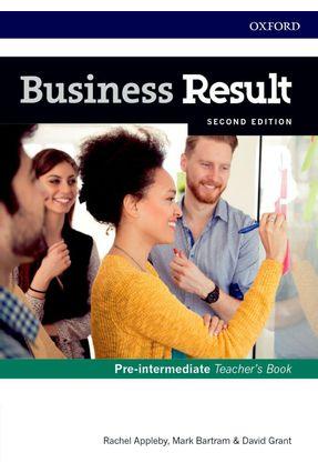 Business Result Pre - Interm - Teacher's Book And Dvd Pk - 2ª Edition - Press,Oxford University pdf epub