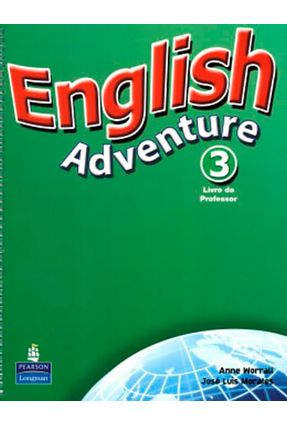 English Adventure 3 - Teacher Book/ Activity Book With CD Audio Versão Português - Morales,Jose Luis Bruni,Cristiana | Tagrny.org