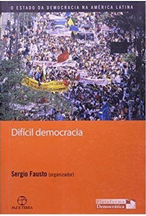 Difícil Democracia - Fausto,Sergio | Tagrny.org