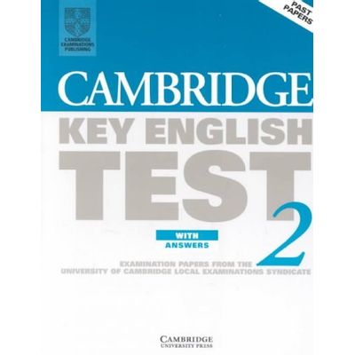 Cambridge Key English Test 2 - Student's Book with Answers