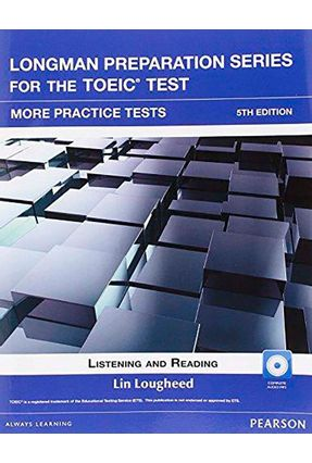 L Preparation Series For The Toeic Tst:  Bk W/Cdrom Itest W/Aud W/ Key - Editora Pearson | Hoshan.org