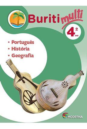 Buriti Multi - Português, História e Geografia - 4º Ano - Editora Moderna | Hoshan.org