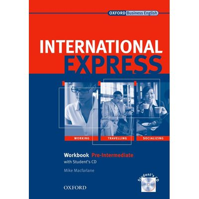 New International Express Pre-Intermediate Workbook With Student´S CD Interactive Edition Pack