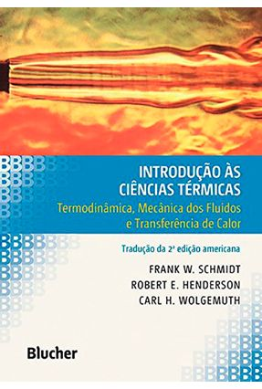 Introducao As Ciencias Termicas - Henderson,Robert E. pdf epub