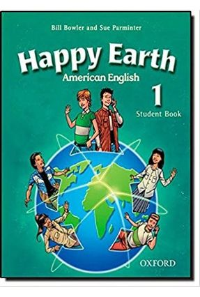 Happy Earth 1 American English Student Book With Multirom Pack - Parminter,Sue Bowler,Bill | Tagrny.org