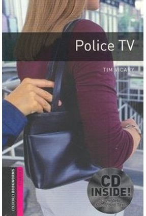 Police Tv CD Pack - Oxford Bookworms Library Starter - Second Edition - Tim Vicary | Hoshan.org