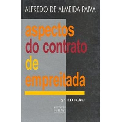 Aspectos do Contrato de Empreitada