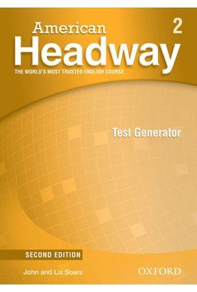 American Headway - Level 2 - Test Generator + CD-ROM - 2ª Ed. - Editora Oxford   Nisrs.org