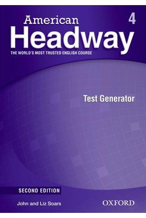 American Headway - Level 4 - Test Generator + CD-ROM - 2ª Ed. - Editora Oxford   Nisrs.org