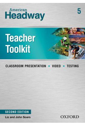 American Headway - Level 5 - Teacher Toolkit + CD-ROM - 2ª Ed. - Editora Oxford | Nisrs.org