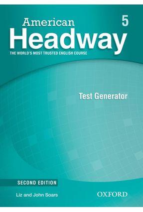 American Headway - Level 5 - Test Generator + CD-ROM - 2ª Ed. - Editora Oxford   Nisrs.org