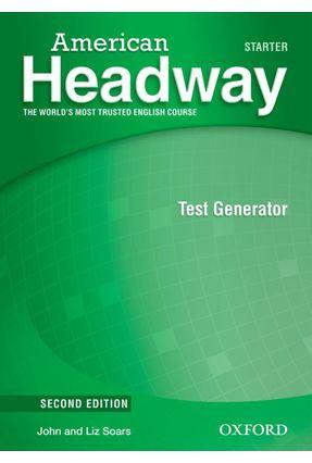 American Headway - Starter - TEST GENERATOR + CD-ROM - 2ª Ed. - Editora Oxford   Tagrny.org
