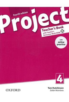 Project 4 - Teacher's Book - Fourth Edition - Tom Hutchinson Zoltán Rézmüves   Hoshan.org