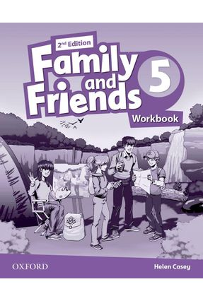 Family And Friends - Level 5 - Workbook - Second Edition - Helen Casey   Hoshan.org