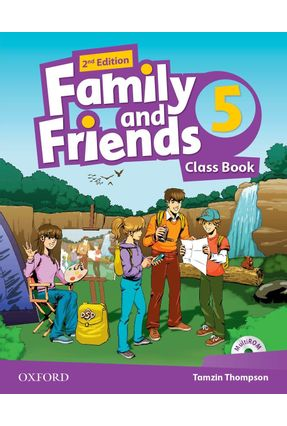 Family And Friends - Level 5 - Class Book Pack - Second Edition - Tamzin Thompson | Nisrs.org