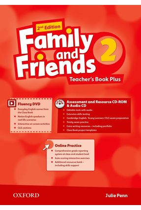 Family And Friends - Level 2 - Teacher's Pack - Second Edition - Julie Penn | Nisrs.org