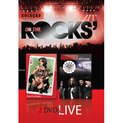 On The Rocks' - Queens Of The Stone Age & Soundgarden - Live - 2 DVDs