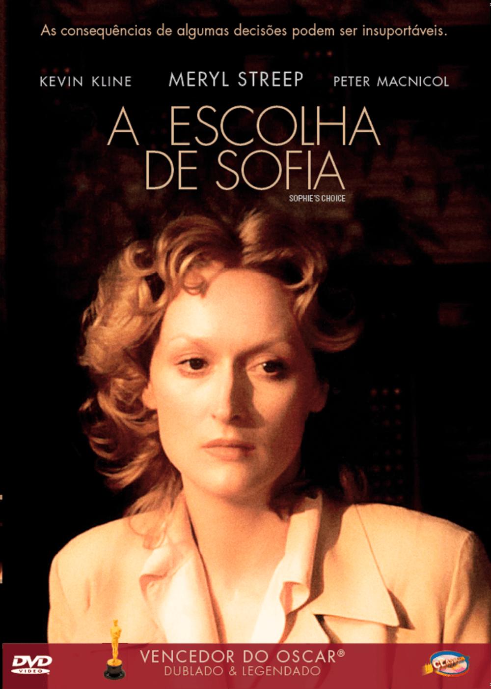 A Escolha De Sofia - DVD - Saraiva