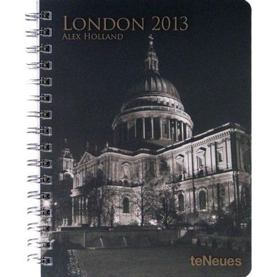 Agenda Semanal Espiral Te Neues Deluxe 16.5x21,6 Medium 2013 - London