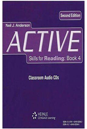 Active Skills For Reading - 2e - 4 - Classroom Audio CD - Anderson,Neil J. pdf epub