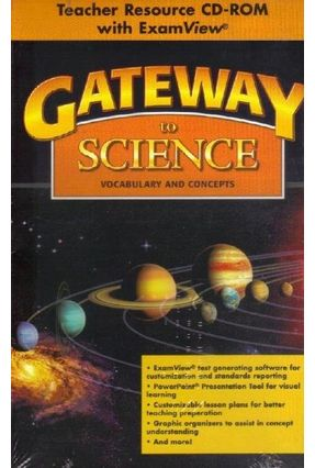 Gateway To Science - CD-ROM With Exam View And Classroom Presentation Tool - Collins,Tim   Hoshan.org