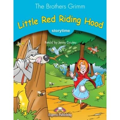 Little Red Riding Hood - Story Book With Audio CD - Série Storytime