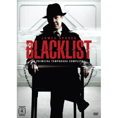 DVD The Blacklist - 1ª Temporada - 6 Discos