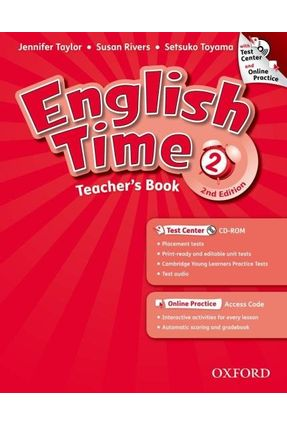ENGLISH TIME 2 - Teacher's Book With Test Center And Online Practice - 2ª Ed. - Editora Oxford | Hoshan.org