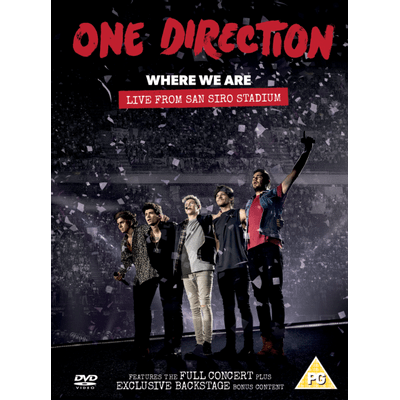 Where We Are - Live From San Siro Stadium - DVD - Digipack
