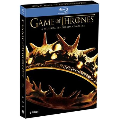 Blu-ray Game Of Thrones - 2ª Temporada - 5 Discos