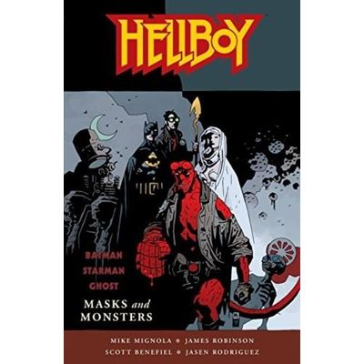 Hellboy (Dark Horse Paperback) - Masks And Monsters