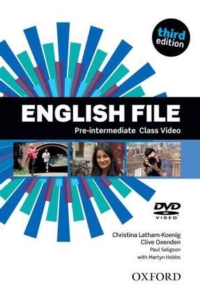 English File - Pre-Intermediate - CLASS DVD - 3ª Ed. - Editora Oxford | Hoshan.org