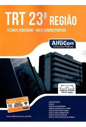 TRT 23ª Região - Técnico Judiciário - Área Administrativa - Castro,Wilza | Hoshan.org