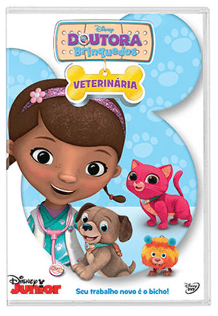 Doutora Brinquedos Veterinaria Dvd Saraiva