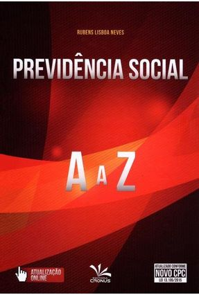 Previdência Social de A A Z - Neves,Rubens Lisboa pdf epub