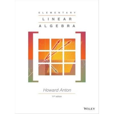 Elementary Linear Algebra 11Th Edition