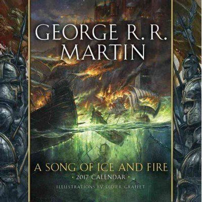 Song Of Ice And Fire Calendar 2017