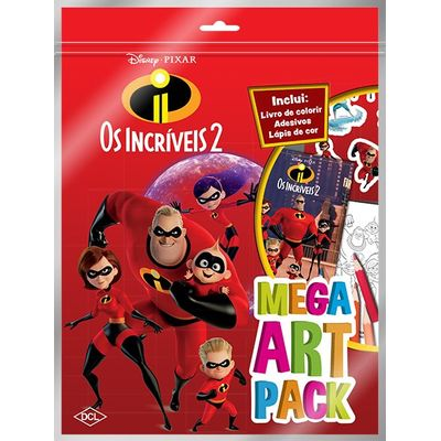 Disney - Mega Art Pack - Os Incríveis 2