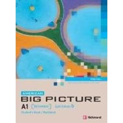 American Big Picture A1 - Student's Book - Split B + Audio CD