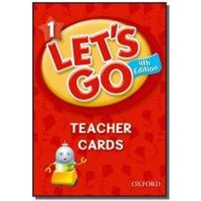 Let's Go 1 - Teacher Cards - 4ª Ed.