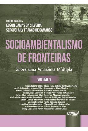 Socioambientalismo de Fronteiras - Volume V - Silveira,Edson Damas Da Camargo,Serguei Aily Franco De pdf epub
