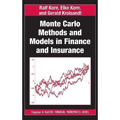 Chapman & Hall/CRC Financial Mathematics - Monte Carlo Methods And Models In Finance And Insurance